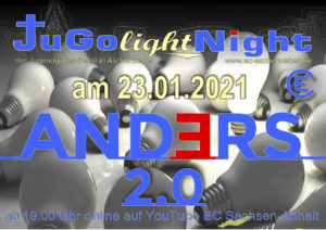 JugoLightNight - Jugendgottesdienst in Aschersleben